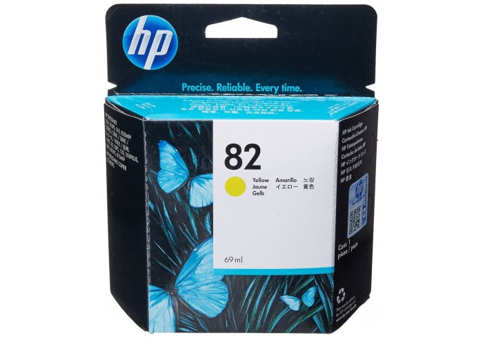 HP Cartuccia d'inchiostro giallo C4913A 82 69ml - C4913A 82 -