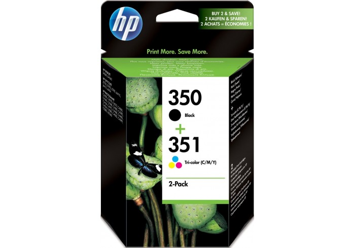 HP Multipack nero SD412EE 350+351 inchiostro: HP 350 - CB335EE