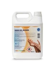 Igienizzante Mani Gel Alcool Antibatterico Lt. 5 70% V/V -