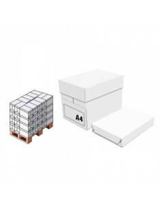 PAPERBOX - Bancale da 240 risme di carta fotocopie formato A4 -