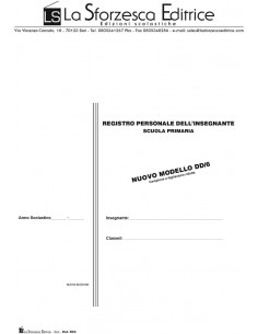 Registro dell'insegnante - Intera classe NOVITA' - Mod. DD/6 -
