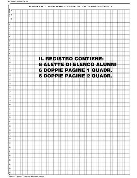 Agenda del docente - supporto al registro elettronico - Mod.