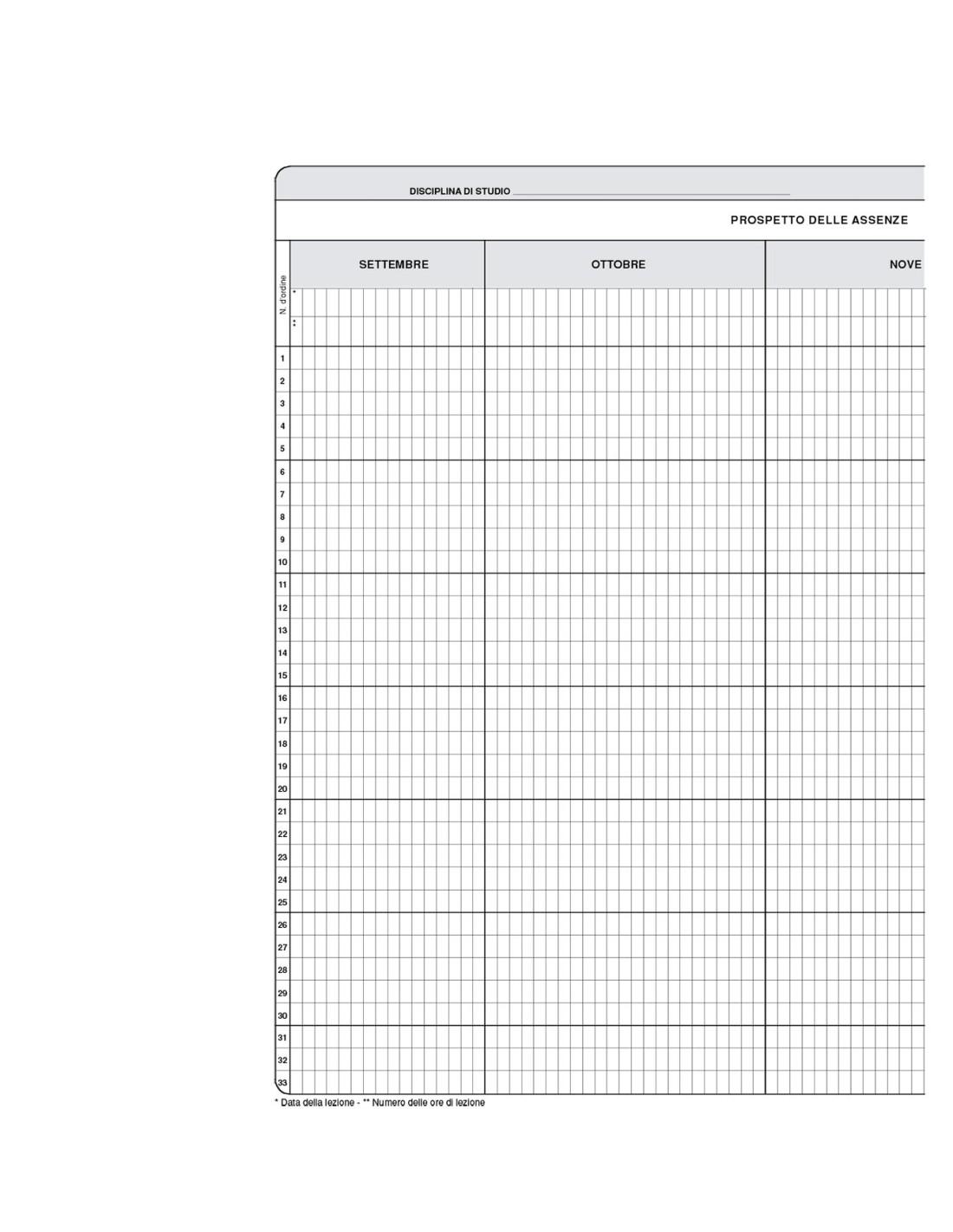 Mod. GP/21 - Quaderno della valutazione