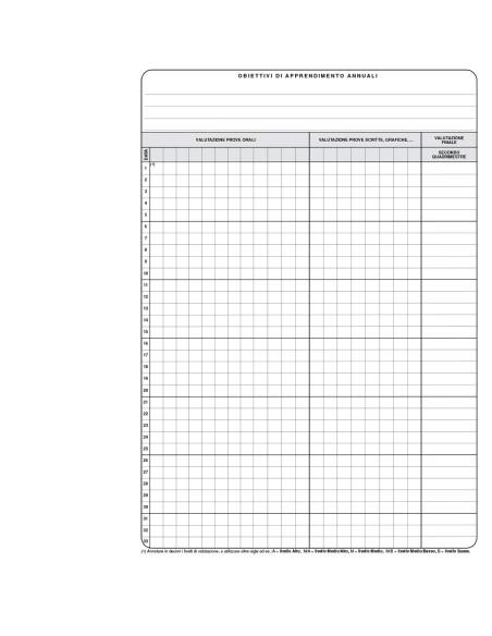 Quaderno della valutazione - supporto al registro elettronico -